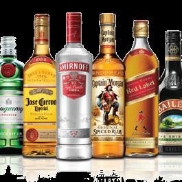Cadeaumand – Sterke drank