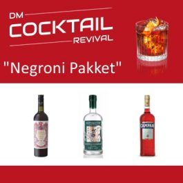 Negroni cocktail pakket