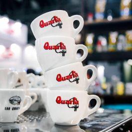 Quarta espresso tas met onderbord