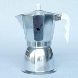 TopMoka Inductie 6 – Zilver