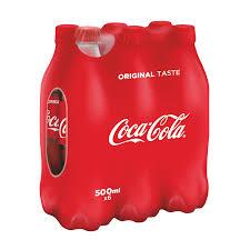 Coca Cola 6x50cl