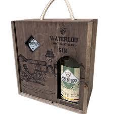 Waterloo Gin 50cl gift